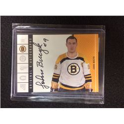 2003-04 Parkhurst Original Six Boston Autographs JOHN BUCYK