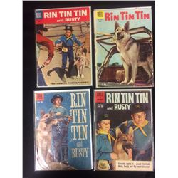 VINTAGE RIN TIN TIN COMIC BOOK LOT
