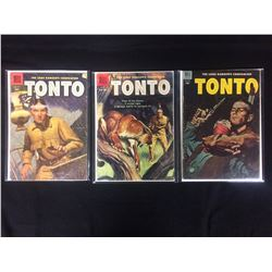 VINTAGE TONTO COMIC BOOK LOT