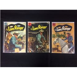 VINTAGE LONE RANGER COMIC BOOK LOT