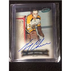 GERRY CHEEVERS 06/07 Parkhurst Auto Autograph #33 Boston Bruins Hard-Signed Card