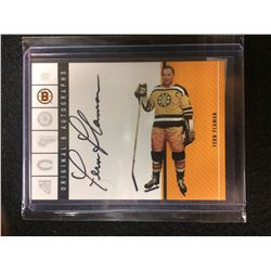 ORIGINAL 6 AUTOGRAPHS FERN FLAMAN HOCKEY CARD