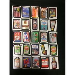 TOPPS Wacky Packages STICKER LOT