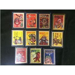 1960'S FONEY ADS TRADING CARDS LOT