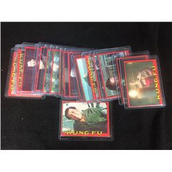 1970'S TOPPS KUNG FU TRADING CARDS LOT
