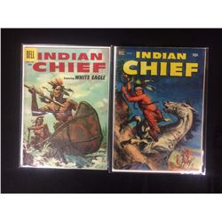 VINTAGE DELL COMIC BOOK LOT (INDIAN CHIEF)