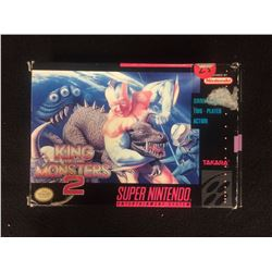 King of the Monsters 2 (SNES Super Nintendo) RARE!