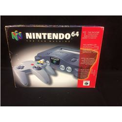 NINTENDO 64 GAMING SYSTEM COMPLETE (NEW IN BOX)