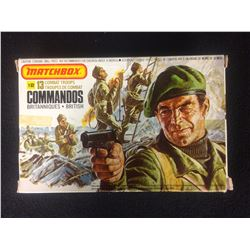 IN BOX MATCHBOX COMMANDOS 13 TROOPS (1-32) BRITISH