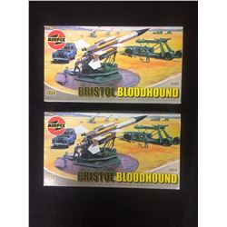 Airfix Bristol Bloodhound Missile, Truck and Trailer LOT (1/72 Scale)