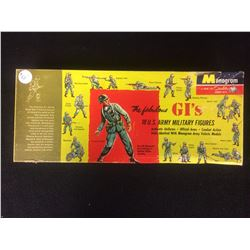 MONOGRAM THE FABUOLOUS GI'S 18 US ARMY MILITARY FIGURES