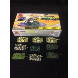 Airfix Bristol Bloodhound Missile, Truck and Trailer LOT (1/72 Scale) PLUS MINI TANKS