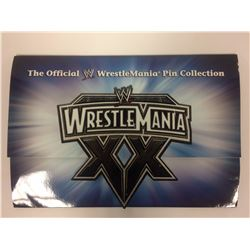 OFFICIAL WWE WRESTLEMANIA XX PIN COLLECTION