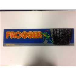 ARCADE GAME GLASS (FROGGER)