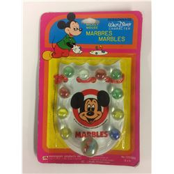Vintage Disney Mickey Mouse Marbles by Monogram (new in pkg)