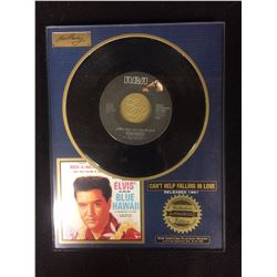 "AUTHORIZED ELVIS PRESLEY ALBUM ""BLUE HAWAII"" SOUVENIR DISPLAY (COLLECTORS EDITION)"