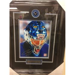 "CURTIS JOSEPH SIGNED 14"" X 18"" FRAMED & MATTED PHOTO W/ COA"