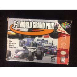 F-1 World Grand Prix Nintendo 64 N64 w/Box
