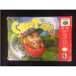 CyberTiger TIGER WOODS Golf (Nintendo 64 1999)