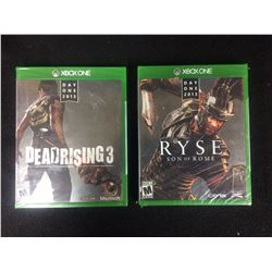 XBOX ONE VIDEO GAME LOT (DEADRISING 3, RYSE)
