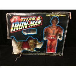 TITAN & IRON MAN CHENG CHING TOYS BATTERY OPERATED 80'S