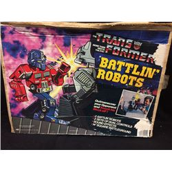 TRANSFORMERS BATTLIN' ROBOTS (2 ROBOTS, 2 DUAL CONTROLS)