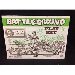 VINTAGE COLLECTIBLE BATTLEGROUND PLAY SET W/ BOX