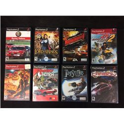 PLAY STATION 2 VIDEO GAME LOT (STARSKY & HUTCH, LORD OF THE RINGS, BURNOUT & MORE...)