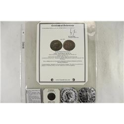 283-285 A.D. CARINUS ANCIENT COIN (FINE)
