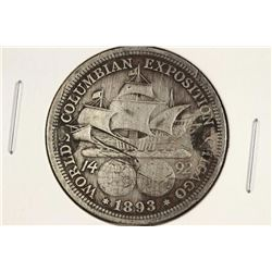 1893 COLOMBIAN EXPOSITION HALF DOLLAR