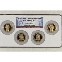2008-S PROOF PRESIDENTIAL DOLLAR SET NGC