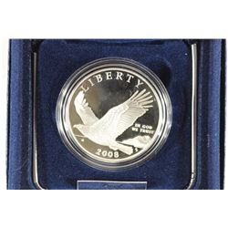 2008-P BALD EAGLE COMMEMORATIVE PROOF SILVER $
