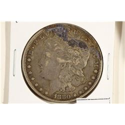 1880 MORGAN SILVER DOLLAR TONING SPOT