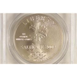 2002-P SALT LAKE CITY OLYMPICS SILVER DOLLAR
