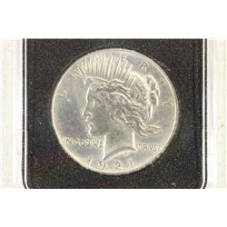 1921-P HIGH RELIEF PEACE SILVER DOLLAR