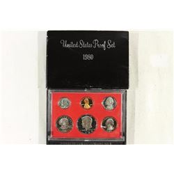 1980 US PROOF SET (WITH BOX)