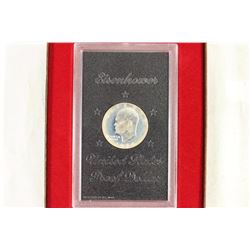 1974-S IKE SILVER DOLLAR PROOF (BROWN PACK)