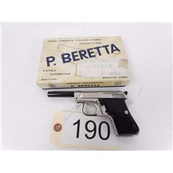 RESTRICTED Beautiful Beretta Auto Pistol