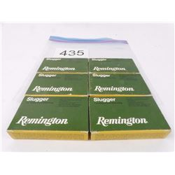 6 Boxes Remington Slugs