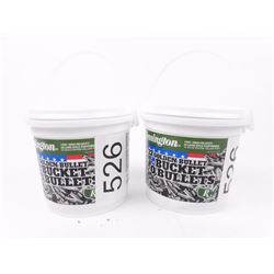 2 buckets of Remington high velocity 22 ammo PICKUP ONLY