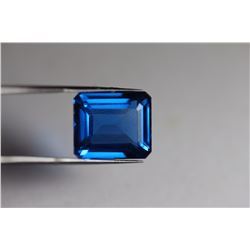 Natural London Blue Topaz 18.75 carats - VVS
