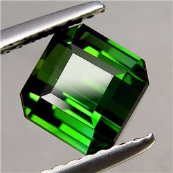 Natural Green Teal Tourmaline 2.07 ct - VVS