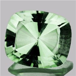 Natural Green Tea Color Amethyst  7.28 Cts - VVS