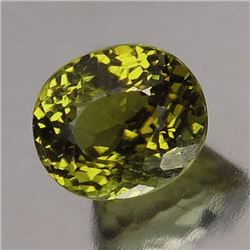 Natural Yellow Green Mali garnet 1.39 ct - no Treatment