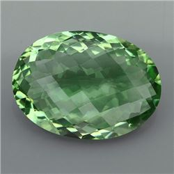 Natural Healing Green Color Amethyst 21.05 Cts - VVS
