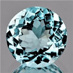 Natural Sky Blue Aquamarine 3.15 Cts