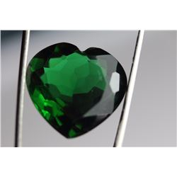 Natural Healing Green Heart Amethyst 22.25 Carats