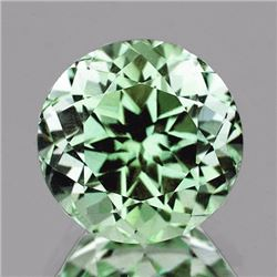 Natural Green Tea Color Amethyst  9.50 MM - VVS
