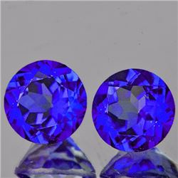 Natural Intense Purple Blue Mystic Topaz 6.00 MM  - FL