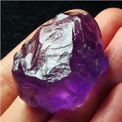 Natural Purple Amethyst Rough 142 Carats